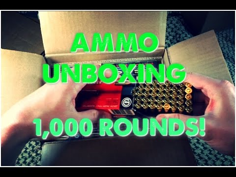 Unboxing 1000 Rounds of 9mm Ammo - Buying Bulk Ammo Online is Easy!