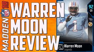 HOW GOOD IS 91 WARREN MOON? MUT 18 CARD REVIEW