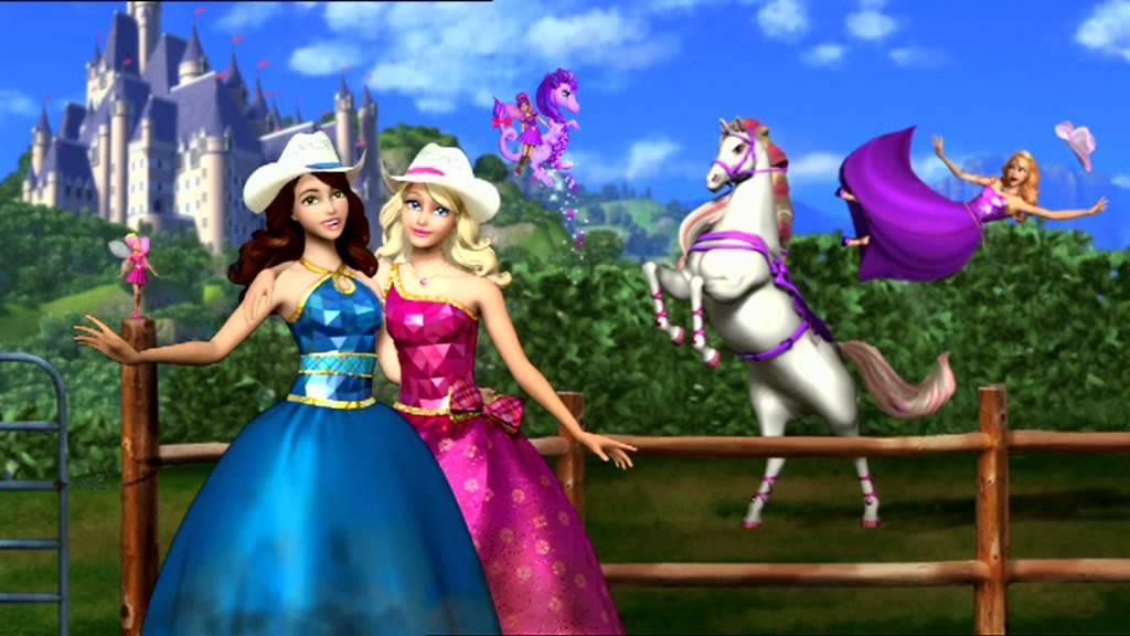 Barbie Escuela de princesas  Tomas falsas  YouTube
