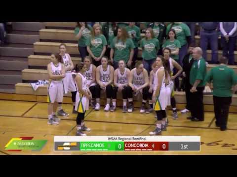 Watch Live: Concordia vs Tippecanoe Valley | Girls IHSAA Regional Basketball Broadcast