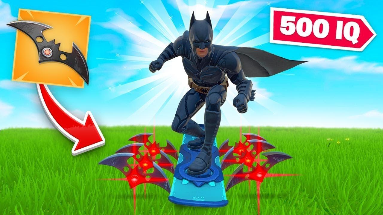 500 IQ BATMAN STRATEGY In Fortnite (very OP) thumbnail