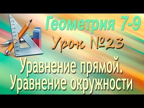 геометрия 8 класс окружность видеоурок