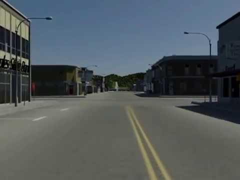 A Drive Thru 3D Prairie du Chien Circa 1965