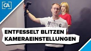 Entfesselt Blitzen - Die richtigen Kameraeinstellungen - caphotos.de
