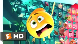 The Emoji Movie (2017) - The Wrong Face Scene | Fandango Family