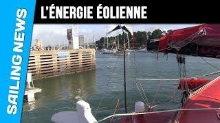 L'énergie éolienne avec Francis Joyon à bord d'IDEC