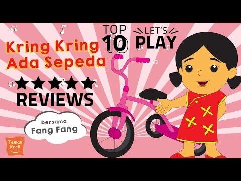 Music | Lagu anak Indonesia | Nursery Rhymes | Kring-kring ada sepeda