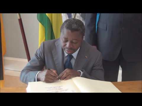 Faure Essozimna Gnassingbé Président de la République du TOGO & MPr Horst Seehofer  Teil II