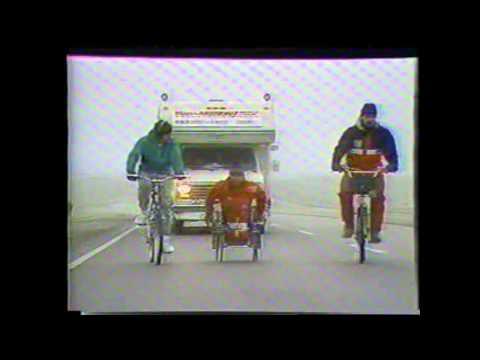 Rick Hansen   'Man in Motion' tour   Swift Current, Saskatchewan   1986