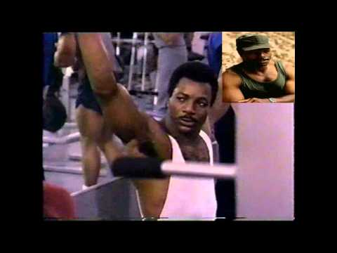 Carl Weathers biceps