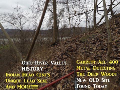 Metal Detecting THE OHIO WOODS Treasure Hunting Archaeology