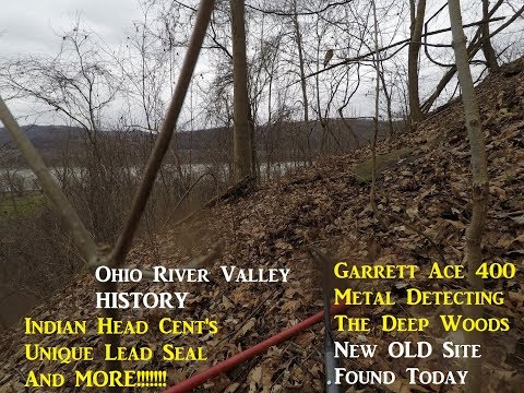 Metal Detecting THE OHIO WOODS Treasure Hunting Archaeology