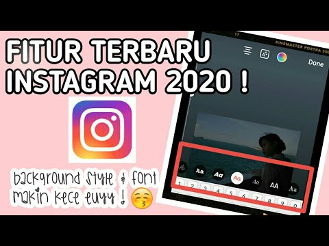 New Instagram Stories Fonts 2020 Android / Cara Pakai Font Instagram Stories Fitur Terbaru Android