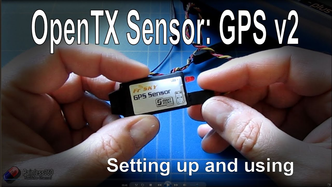 OpenTX 2 1 Telemetry: The FrSky GPS Sensor, setting up, using and