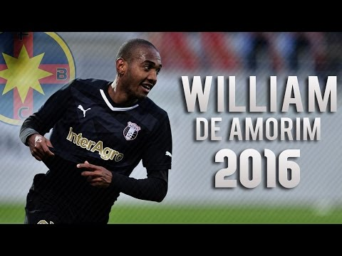 William De Amorim - Welcome to Steaua Bucharest 2016 | ft. SniperScoutHD