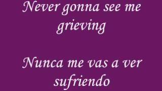 Allison Iraheta - Still Breathing + Lyrics y Letra en Español