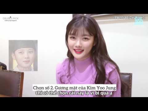 [Vietsub] Kim Yoo Jung Interview with CelebPick 5min
