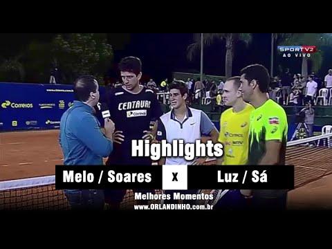 Orlando Luz / André Sá VS Marcelo Melo / Bruno Soares | Highlights | Momentos | Masters Cup 2014
