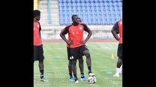 Ultime séance d'entraînement des lions avant le match contre Eswatini!