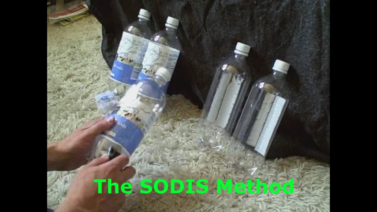 homemade water filter bottle. Homemade Water Purifier/Disinfector - DIY Survival Filter The SODIS Method YouTube Bottle U