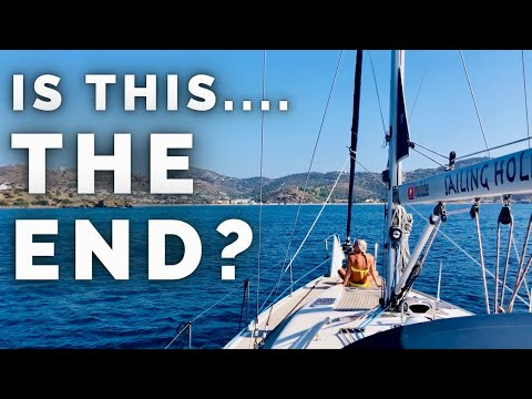 IS THIS THE END? Sailing into the beautiful Greek Island Leros.