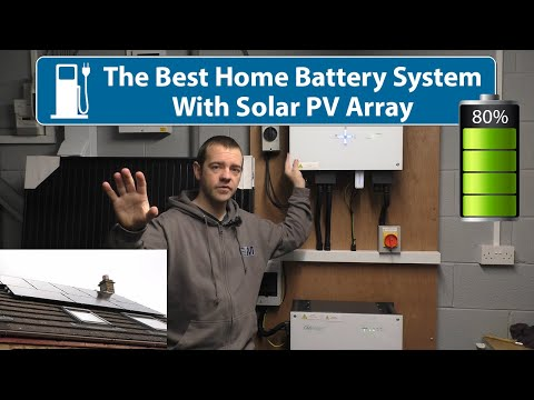 This Is The Best Home Battery + Solar PV System For Me!