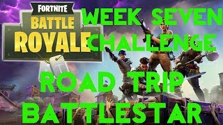 Fortnite Battle Royale | Season 5 Week 7 Challenge | Road Trip Secret Battle Star Location Guide