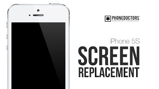 How to: iPhone 5S Screen Replacement Video