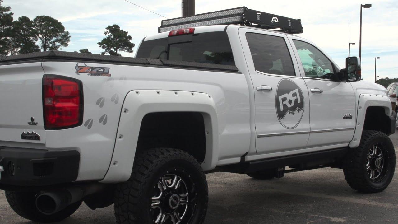 2500Hd High Country >> 2016 Chevrolet Silverado 2500HD High Country Rocky Ridge Duramax - YouTube