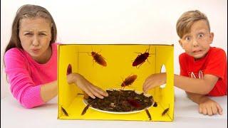 سينيا وأمي - ألعاب غامضة في صندوق