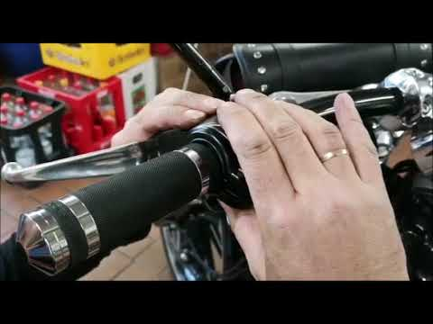 Griffe tauschen bei Harley Davidson Breakout
