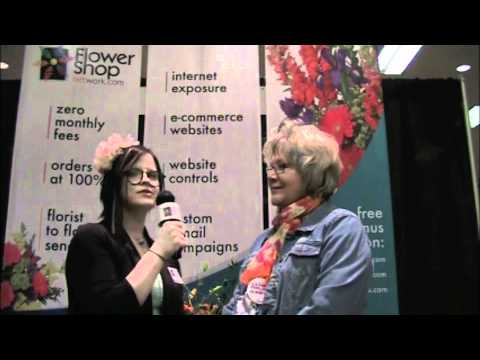 LaRonda Lambert at the Illinois State Florist Convention