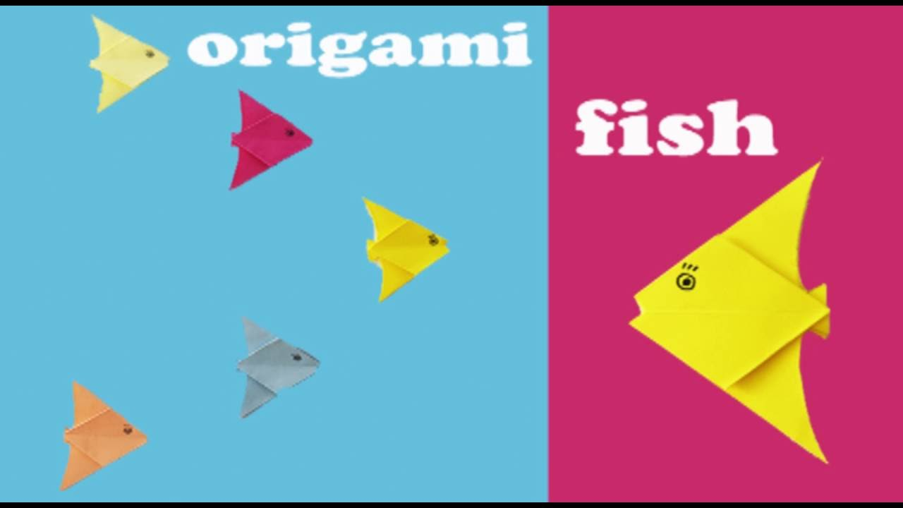 Origami easy fish animals how to fold an easy origami fish origami easy fish animals how to fold an easy origami fish origami for kids jeuxipadfo Gallery