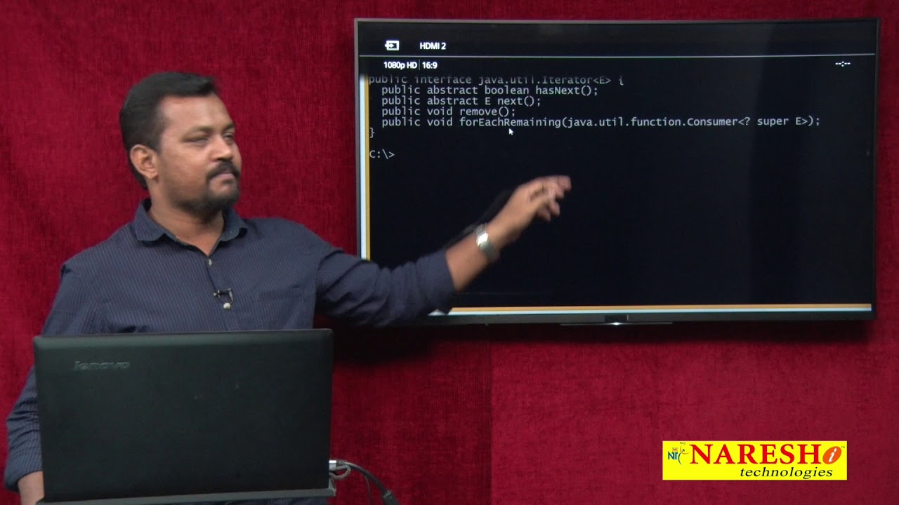 Java tutorial iterator image collections any tutorial examples core java tutorial special iterator by java 8 mr venkatesh core java tutorial special iterator by baditri Image collections