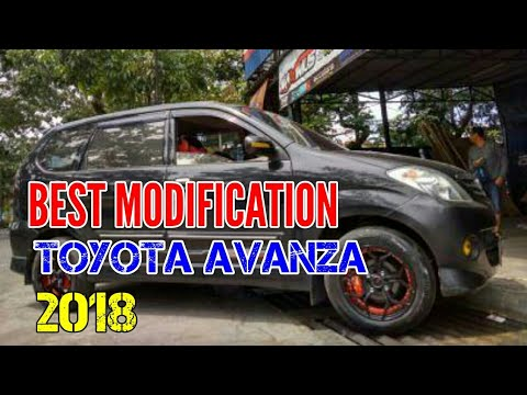 Top TOYOTA AVANZA Modified 2018