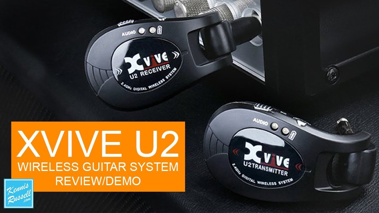 u2 xvive wireless guitar system review demo youtube. Black Bedroom Furniture Sets. Home Design Ideas