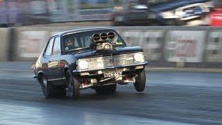 Mental 540ci V8 blown Torana
