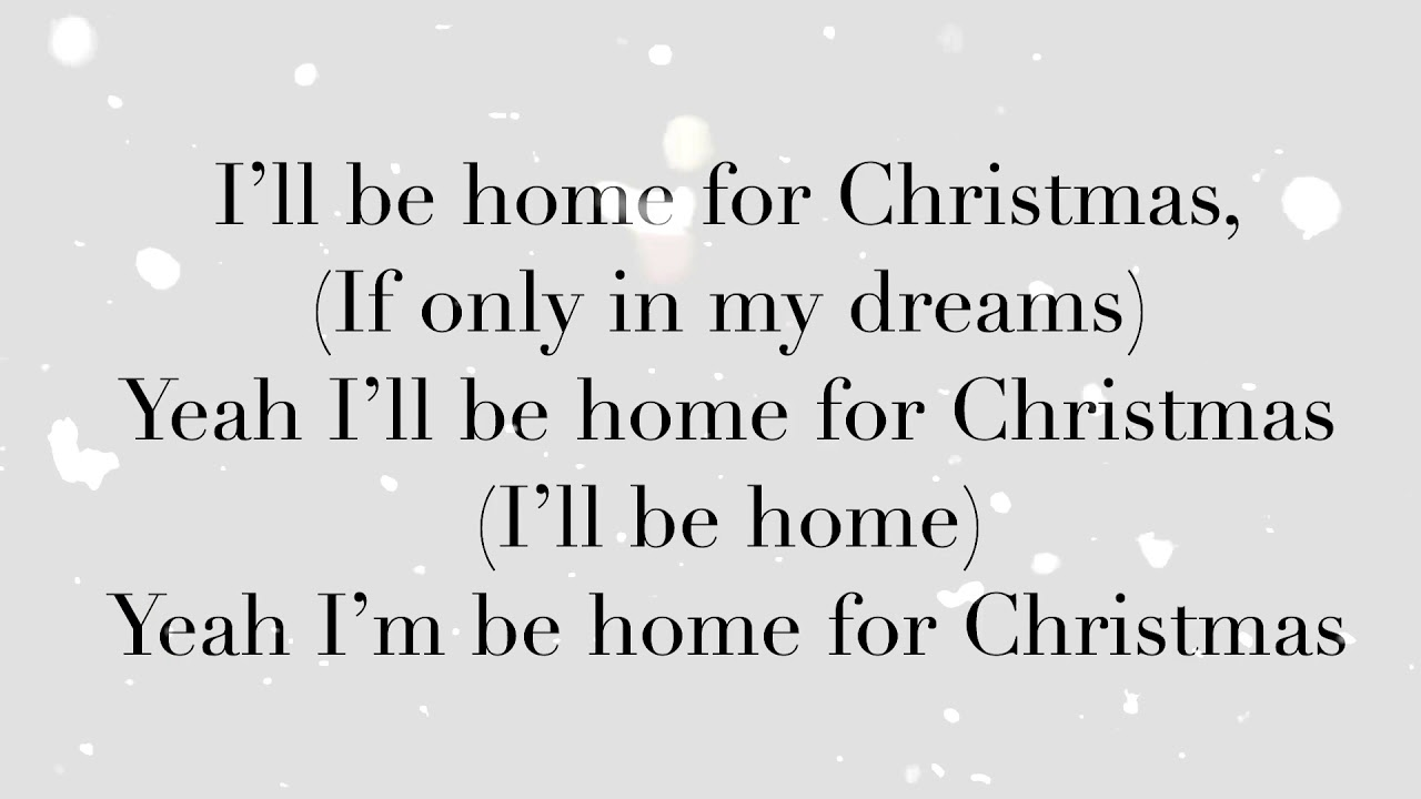 In Real Life - I\'ll be Home This Christmas lyrics - YouTube