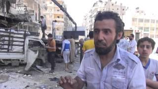 حلب تشهد مجازر مروعة