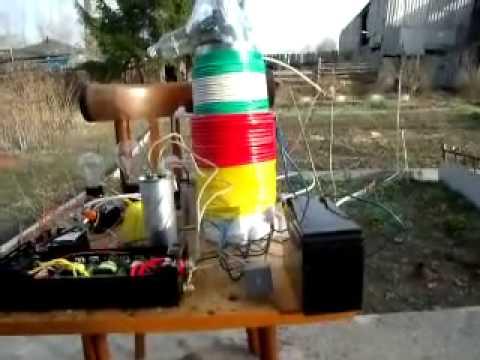 Бестопливный генератор в