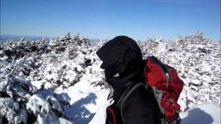 3 PEAKS ON A WINTER WHITE MOUNTAIN NEW HAMPSHIRE HIKE