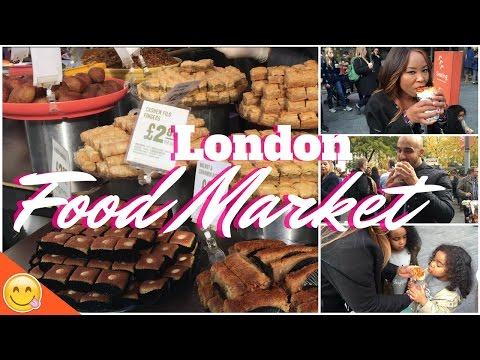 Best London Market - South Bank Food Market - Street Food - Places To Visit In London