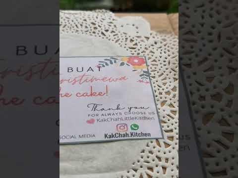 Download CAKE BUAH TERSEDAP... review jujur cake buah tersedap