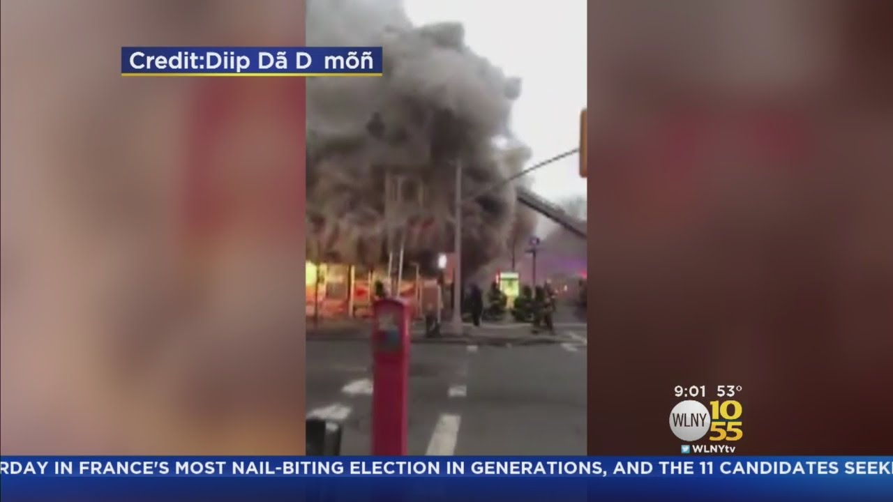 mosque deli burned in bed stuy fire youtube