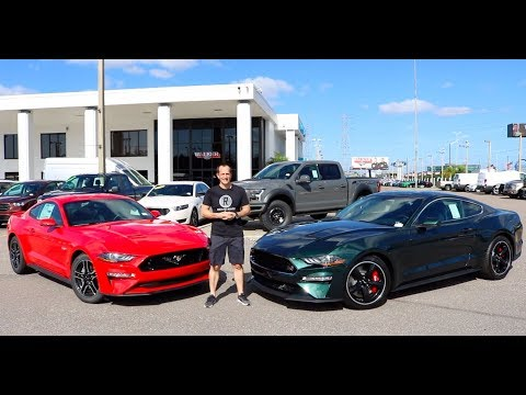 Why BUY the 2019 Ford Mustang Bullitt over the Mustang GT?