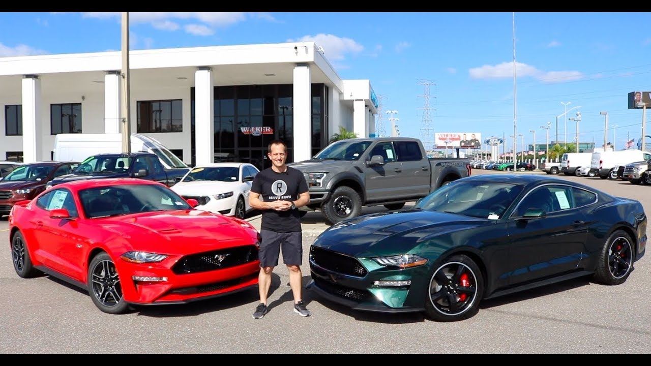 Why buy the 2019 ford mustang bullitt over the mustang gt