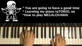 Download lagu HOW TO PLAY - UNDERTALE - MEGALOVANIA (Piano TuTORIEL)