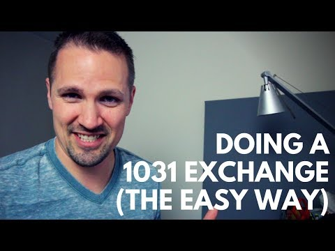 Doing A 1031 Exchange (the Easy Way)