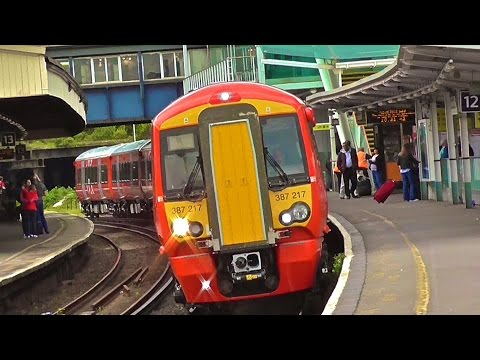 Gatwick Express Class 387/2s Now In Service On GX Services From Brighton - London Victoria