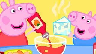 Peppa Pig en Español 🍳 Cocinand...